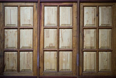 Wood windows , background Stock Photography