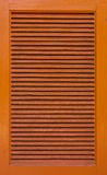 Wood windows of cabinet Royalty Free Stock Images