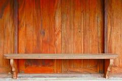 Wood Windows och räknare Arkivfoton