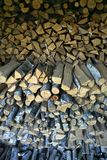 Wood for the winter Stock Photography