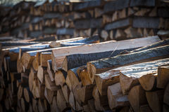 Wood for the winter Royalty Free Stock Photos