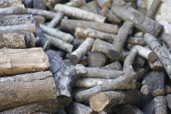 Wood for the winter Royalty Free Stock Images