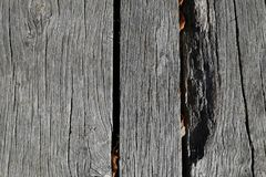 Wood. Table outdoor Stock Images