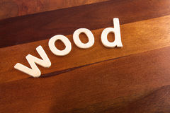 Wood on wood Stock Images