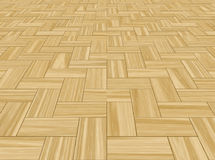 Wood wooden Parquetry floor  Stock Image