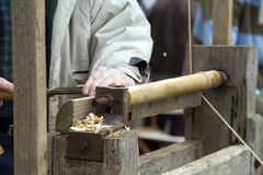 Wood worker Stock Photos