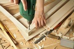 Wood working Stock Image