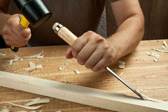 Wood working Stock Photography