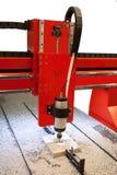 Wood-working boring machine Royalty Free Stock Image