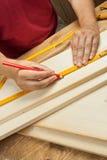 Wood workshop Stock Image