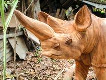 Woodacarvin. Woodcarvin Art handmade in Mombasa Royalty Free Stock Photo