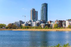 Woodberry Wetland in London royalty free stock photography