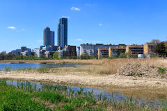 Woodberry Wetland in London Royalty Free Stock Photo