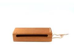 Woodblock χωρίς σφύρα στο λευκό Στοκ Εικόνες