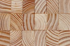 Woodblock texture Stock Photography