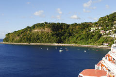 Woodbridge Bay Dominica Royalty Free Stock Image