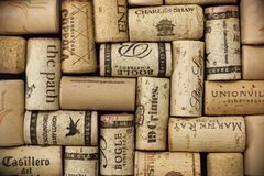 Wine Cork Background royalty free stock images
