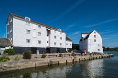 Woodbridge Tide Mill. On the River Deben in England royalty free stock image
