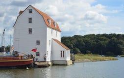 Woodbridge tidvatten maler Fotografering för Bildbyråer