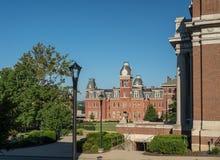Woodburn Hall в университете Западной Вирджинии в Morgantown WV стоковая фотография