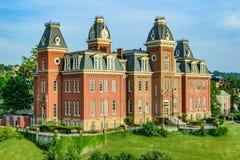 Woodburn Hall в университете Западной Вирджинии стоковое изображение rf