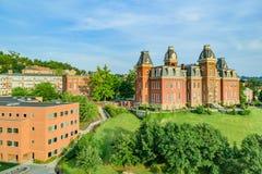 Woodburn Hall в университете Западной Вирджинии стоковые фото