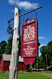 Woodbury, CT : C Hurd House 1680 Image libre de droits