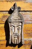 Woodcarving, η εργασία ενός άγνωστου συντάκτη στοκ εικόνα