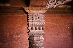 Woodcarving Будды Стоковые Изображения