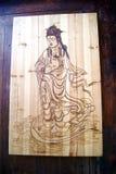 Woodcarving Стоковая Фотография