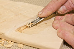 Woodcarving Stock Photography
