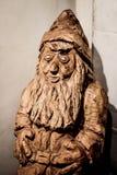 Woodcarving błyszczka - Vesterheim Zdjęcie Stock
