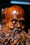 Woodcarving d'Oldmen Images libres de droits