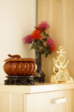 Woodcarving furnishing Royalty Free Stock Photo