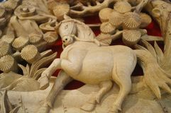 Woodcarving rękodzieło Fotografia Stock