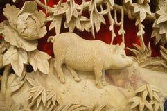 Woodcarving rękodzieło Fotografia Royalty Free