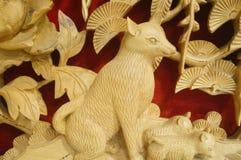 Woodcarving rękodzieło Obraz Stock