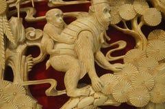 Woodcarving rękodzieło Obrazy Stock