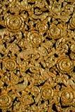 Woodcarving tradycyjna Tajlandzka sztuka Obraz Royalty Free
