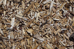 Woodchip background Stock Images