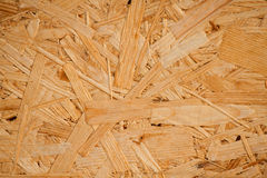 Woodchip board close-up Stock Photo