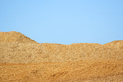 Woodchips Royalty Free Stock Photo