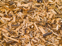 woodchips Arkivbild