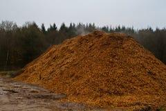 Woodchips Imagens de Stock