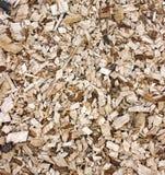 Woodchips background Stock Images