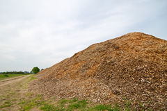 Woodchips Royalty Free Stock Photos