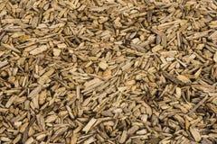 Woodchips. Woodchip mulch background pattern texture Stock Images