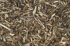 Woodchips. Woodchip mulch background pattern texture Royalty Free Stock Photos