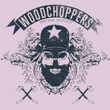 Woodchopers Stock Image