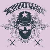 Woodchopers Stock Image